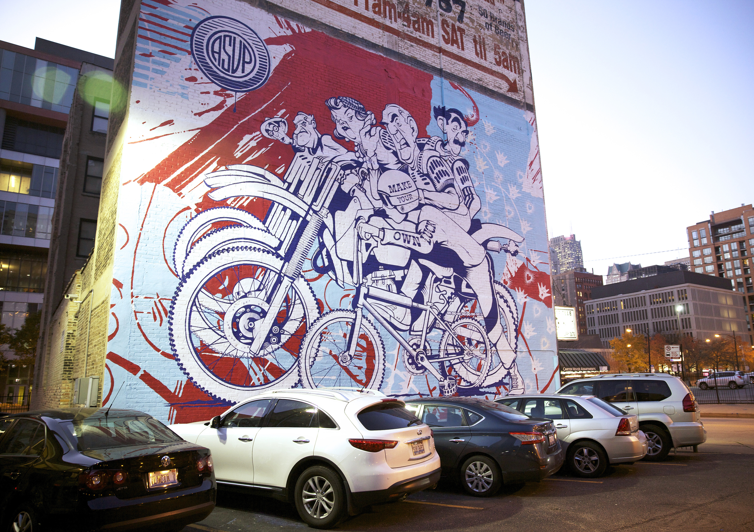06 May Chicago Launches Massive Street Art Festival: Wabash Arts Corridor  Big Walls Part 91